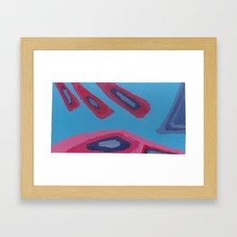 20 - Razing Rayz of Red & Other Grayz Framed Art Print