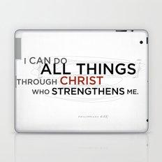 Philippians 4:13 II Laptop & iPad Skin