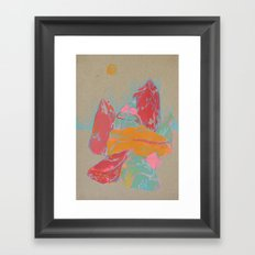 Rocks 1 Framed Art Print