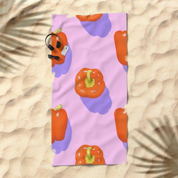 fruit 18 Beach Towel