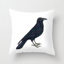 Hark! The Raven Cries! Throw Pillow