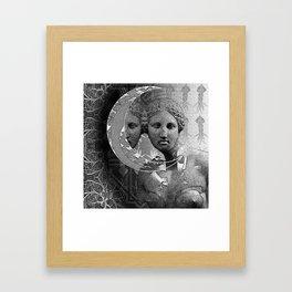 The Beast Moon Framed Art Print