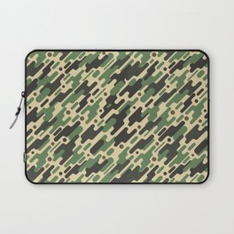Modern Camouflage Green Forest Army Pattern Laptop Sleeve