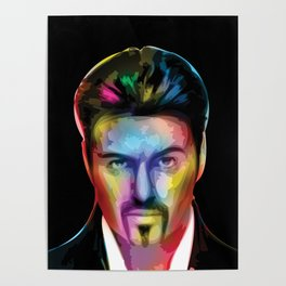 George 'Careless Whisper' Michael Tribute Poster