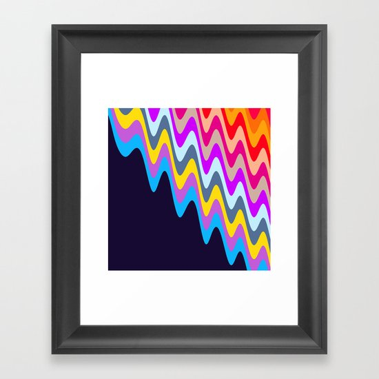 Melting Ice Cream #3 Framed Art Print