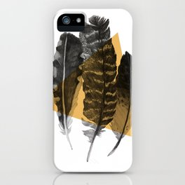 feathers 2 iPhone Case