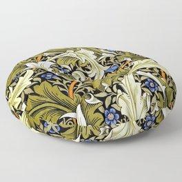 Granville by John Henry Dearle for William Morris Floor Pillow