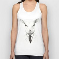 lamb Tank Tops featuring Lamb by David Cristobal