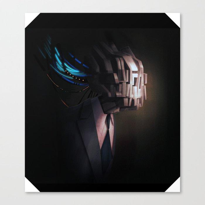 head test Canvas Print
