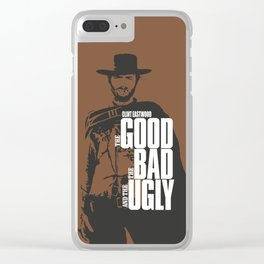 The Good The Bad And The Ugly Clear iPhone Case