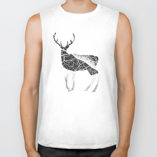 Deer Fiber Biker Tank