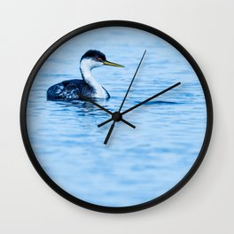 Bird - Western Grebe Wall Clock