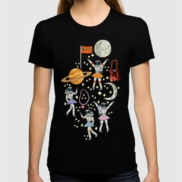 Dancing Across Galaxies T-shirt