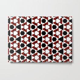 Van Steensel Pattern Metal Print