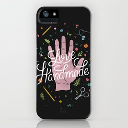 Love Handmade iPhone Case