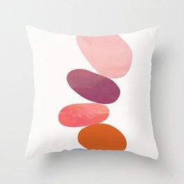 Balancing Stones 23 Throw Pillow