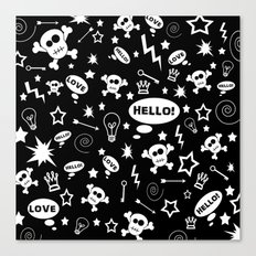 Hello Love! Canvas Print