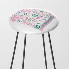 Ugly (but cute) Christmas Sweater Counter Stool