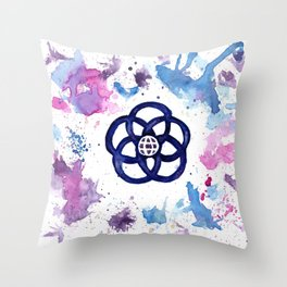 We Go On Throw Pillow