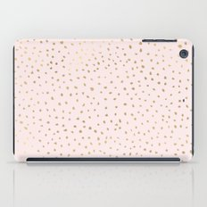 Dotted Gold & Pink iPad Case