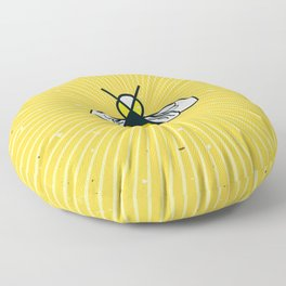 Don t worry – Bee happy – A Hell Songbook Edition Floor Pillow