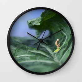 Kale Surf Wall Clock