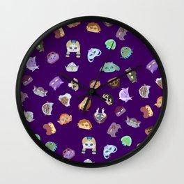 A Mix of Paladins Wall Clock
