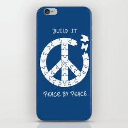 Peace By Peace iPhone Skin