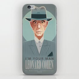 I'm your man iPhone Skin