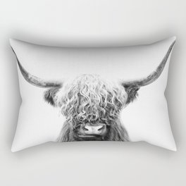 Scottish Highland Cow Rectangular Pillow