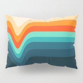 Retro Verve Pillow Sham