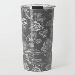 Mycology Grey Travel Mug