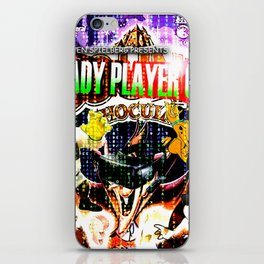 Official Ready Player One Poster iPhone Skin