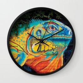 Lizard King Wall Clock