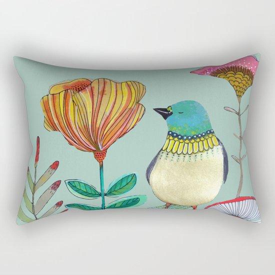my heart of gold Rectangular Pillow