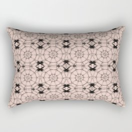 Pale Dogwood Pinwheels Rectangular Pillow