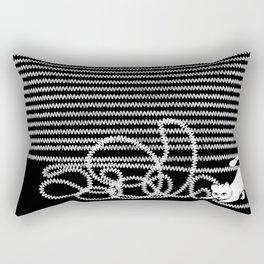 Unravel Rectangular Pillow