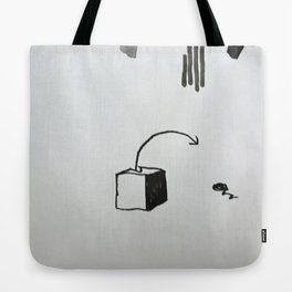 missed blocks Tote Bag