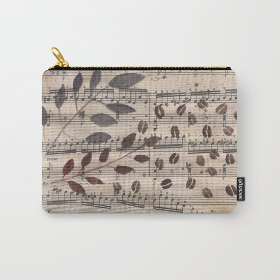 Old paper. Notes. Carry-All Pouch