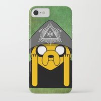 crowley iPhone & iPod Cases featuring Jake Crowley by Conversa entre Adeptus