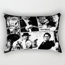 When Morricone Meets Leone Rectangular Pillow