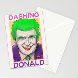 Dashing Donald + Mr. J Hybrid Stationery Cards