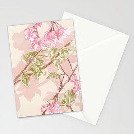 Flower Sketch Stationery Cards