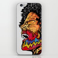 scream iPhone & iPod Skins featuring Scream by Vasco Vicente