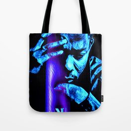 heavy black heart (Lamar) Tote Bag