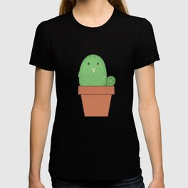 Liitle Hedgehog Cactus in a Pot T-shirt