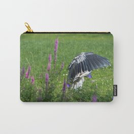 Welcome Heron Carry-All Pouch