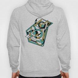Partridge - Geometric Abstract Digital Design Hoody