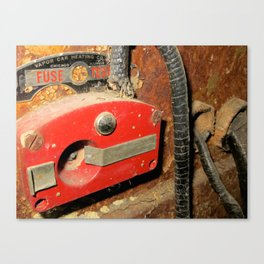 Pullman fuse tester. Canvas Print