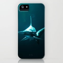 Hammerhead Shark (Color) iPhone Case